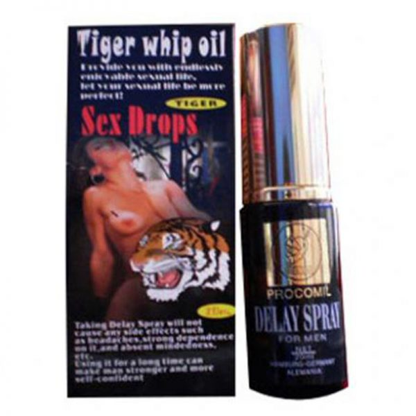 chai xit tri xuat tinh som tiger delay spray usa338